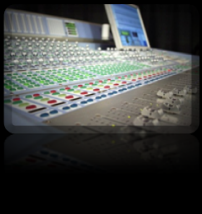 mixing engineer analog console